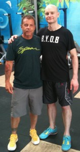 PDR Coach Colin McNulty and Tony Blauer