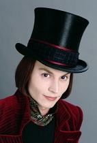 Willy Wonka Johny Depp