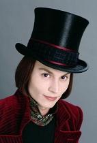 Willy Wonka Johny Depp
