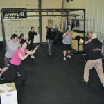 Everyone having fun at the PDR Course at CrossFit Tameside