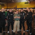SPEAR System Demo Team at the Martial Arts Show, NEC, Birmingham